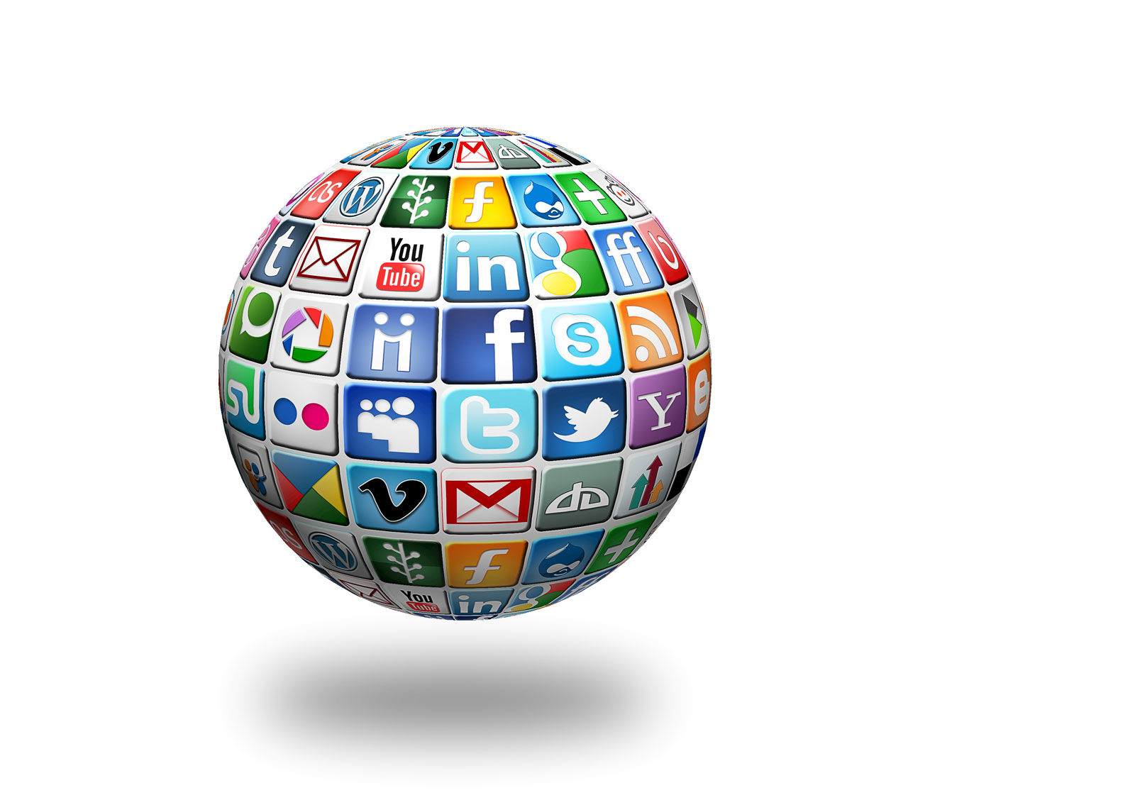 Social Media Globe | 21 Simple Content Marketing Tips To Jumpstart Your Campaign