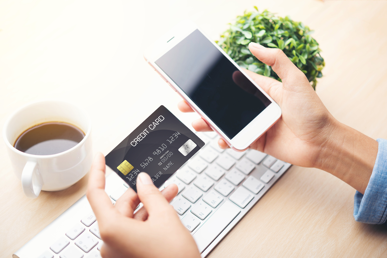Mobile Phone and Debit Card | Ecommerce Website Builder: Easy Guide To Launching A Site