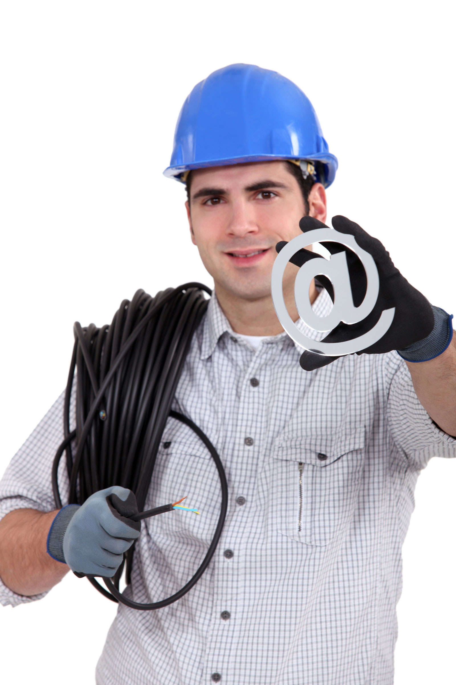 Construction Worker   5 Free Email Marketing Services For Businesses On A Budget