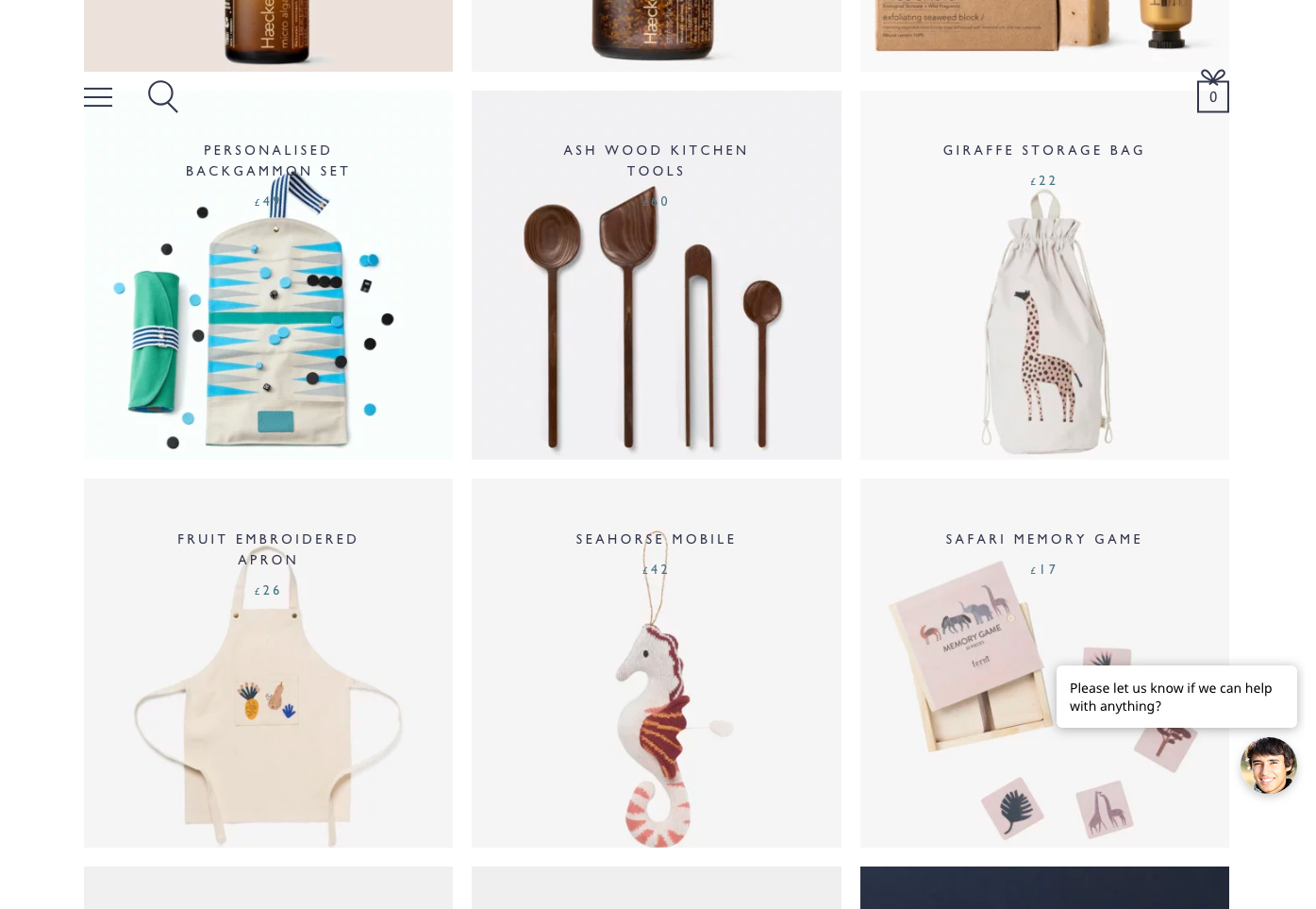 Not Another Bill | 14 Examples Of Beautiful, Easy-To-Shop Ecommerce Websites