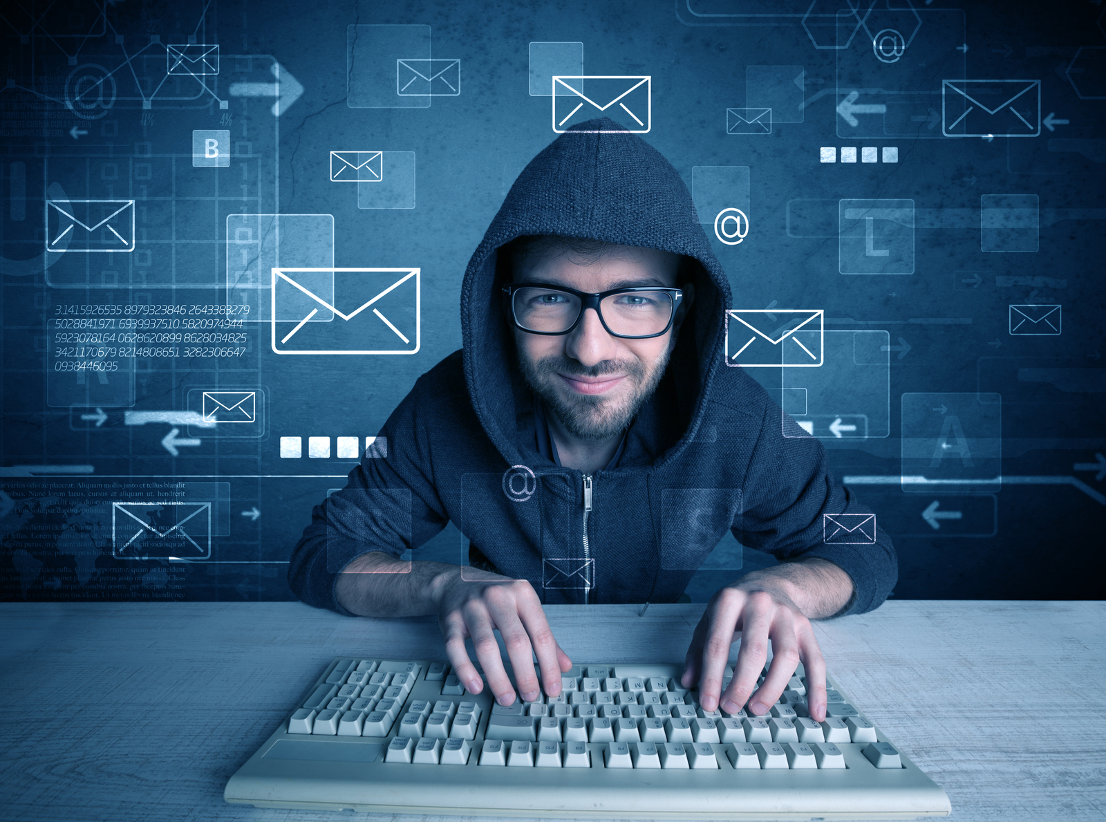 Man using Computer | How To Pick An Email Marketing Service That's Right For You