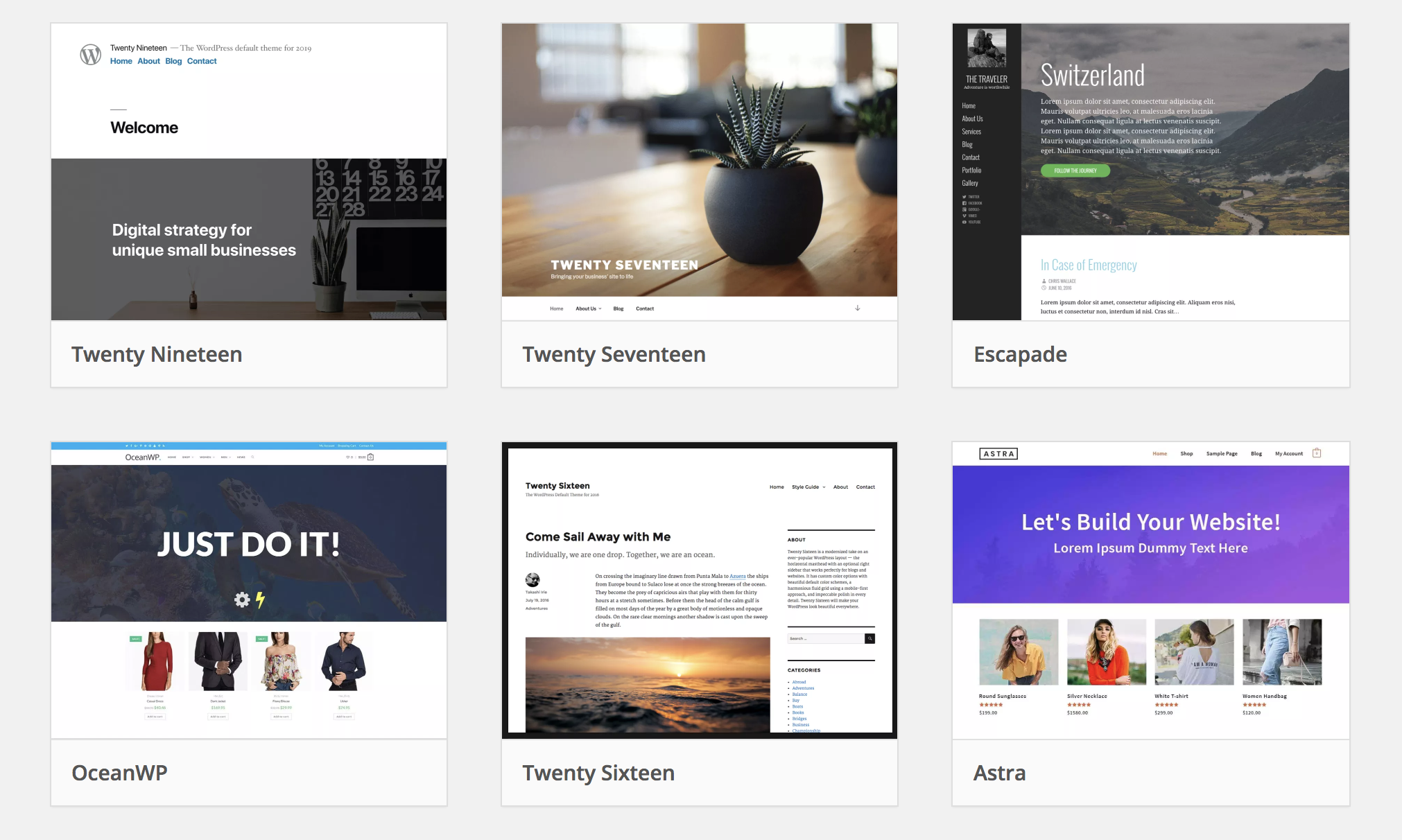 WordPress Themes | 15 Places To Find The Best Free WordPress Themes