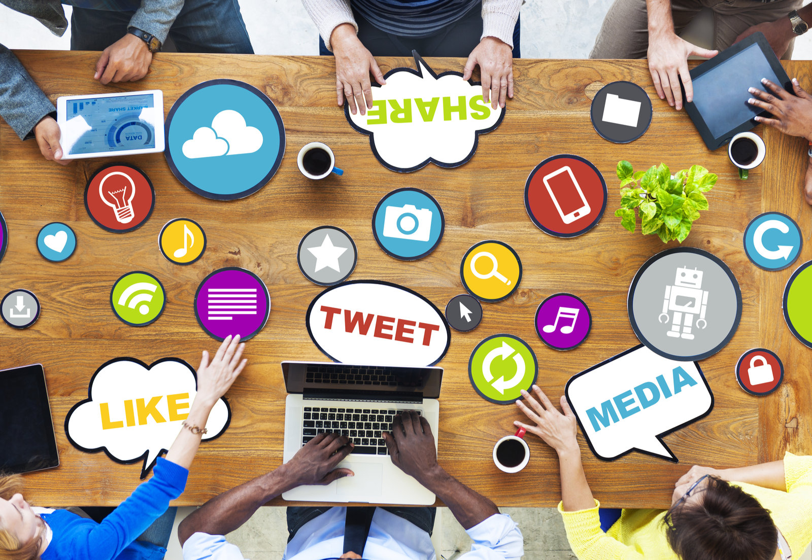 Icons | Building A Social Media Marketing Plan That Works