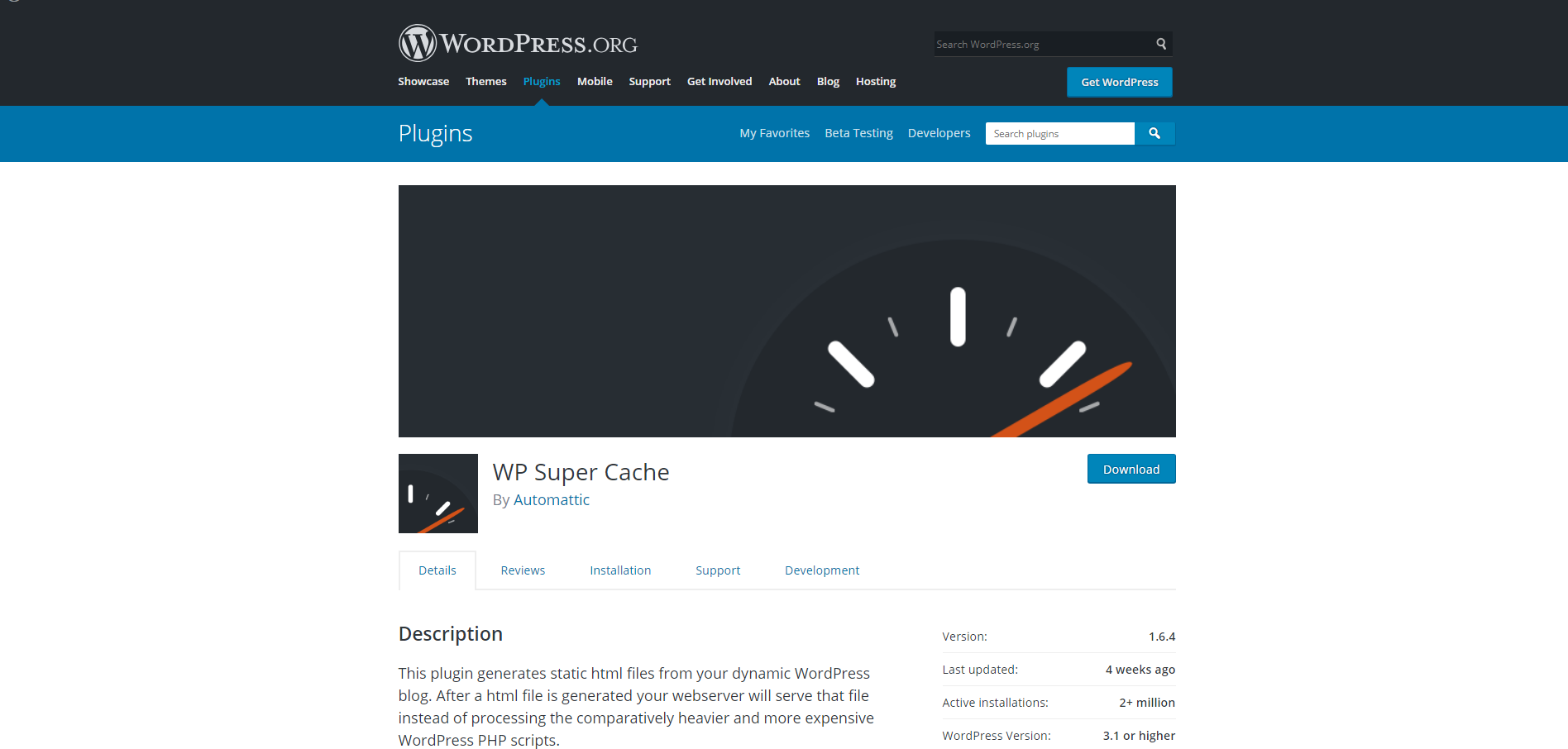 WP Super Cache | 18 Most Popular WordPress Plugins For Your Business Needs
