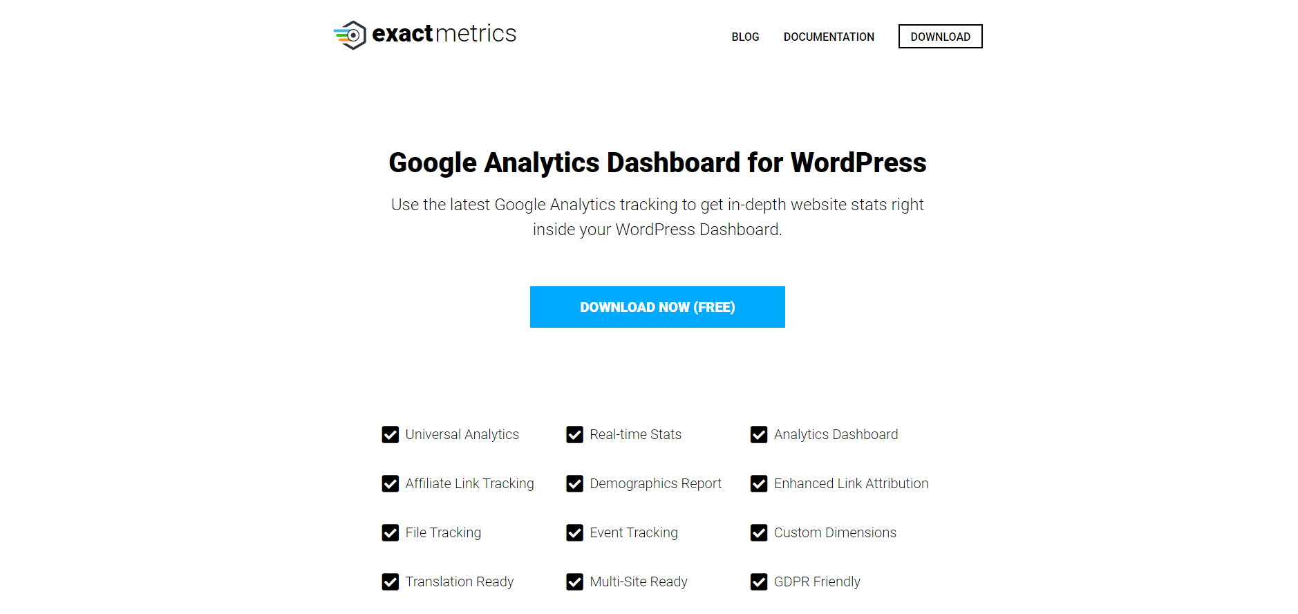 Google Analytics Dashboard for WP by ExactMetrics | 18 Most Popular WordPress Plugins For Your Business Needs