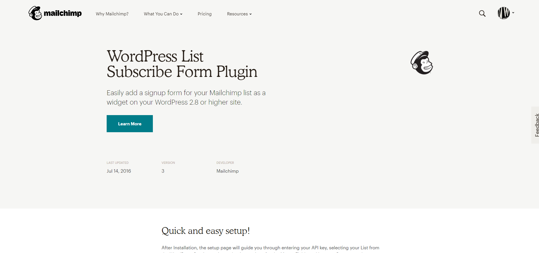 MailChimp | 18 Most Popular WordPress Plugins For Your Business Needs