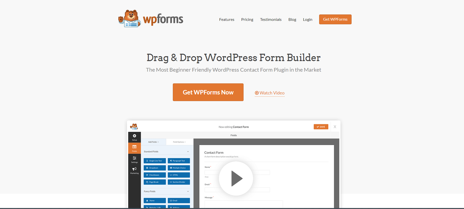 WP Forms | 18 Most Popular WordPress Plugins For Your Business Needs