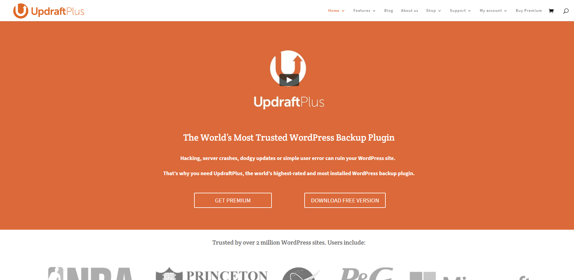 UpdraftPlus | 18 Most Popular WordPress Plugins For Your Business Needs