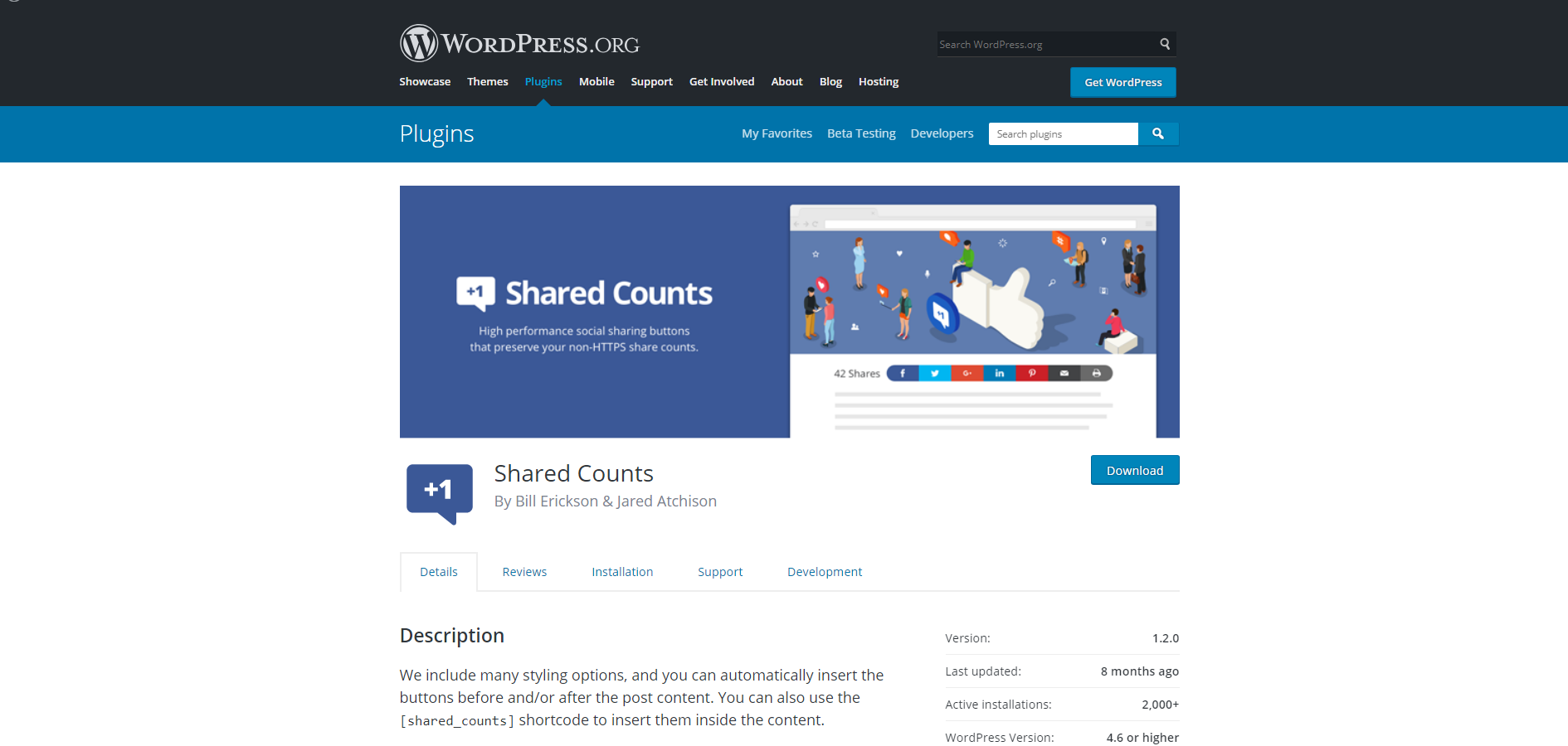 Shared Counts | 18 Most Popular WordPress Plugins For Your Business Needs