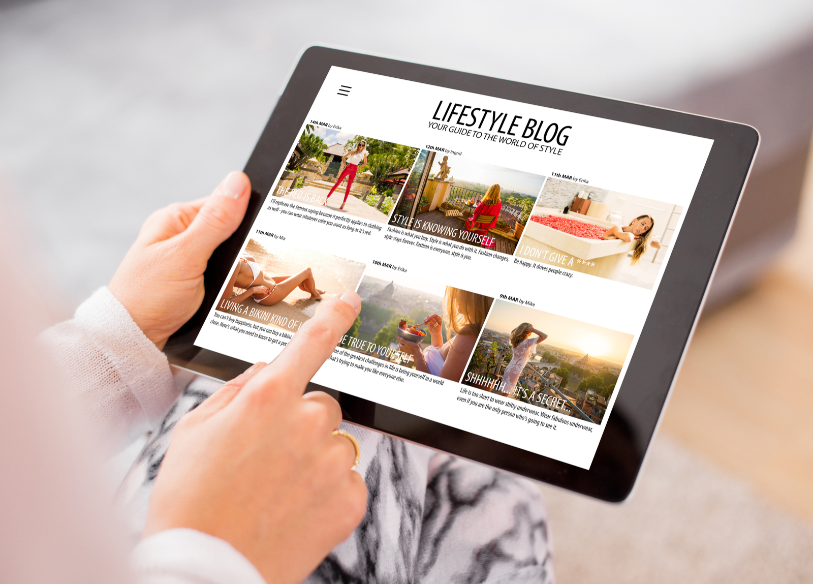 iPad | Templates 101: How To Find The Best WordPress Theme