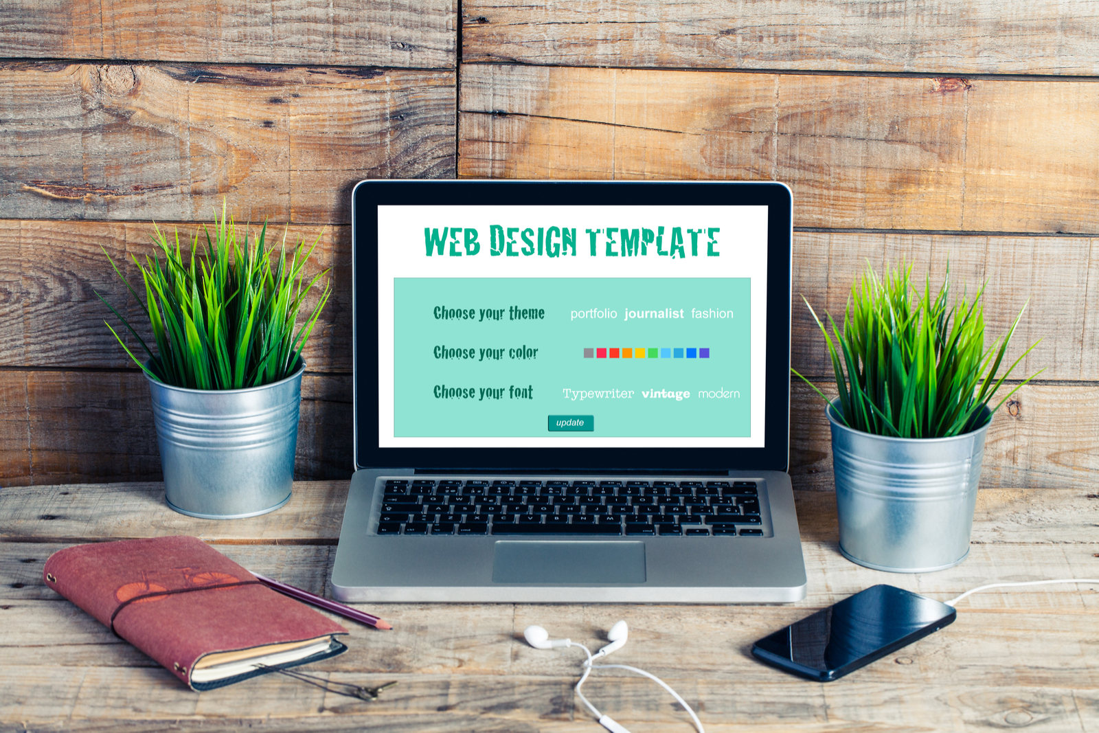 Computer and Mobile Phone | Templates 101: How To Find The Best WordPress Theme