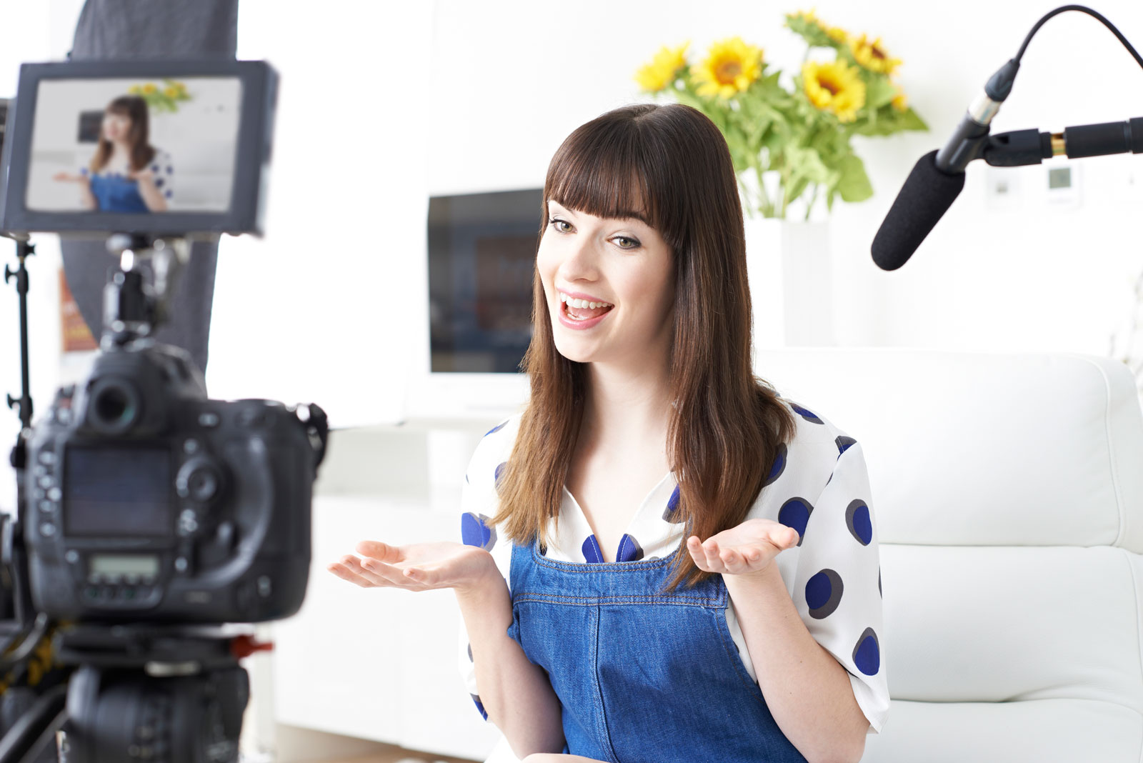 Woman In Front Of The Camera | Social Media Content: 5 Types That Get Massive Engagement