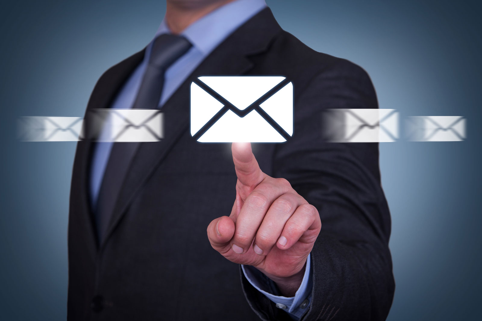 Man Pointing On An Envelope   The 6 Best Email Marketing Platforms For Growing Businesses