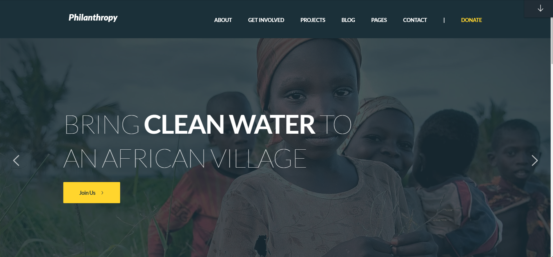 African Children   13 Best WordPress Themes For All Types Of Blogs & Websites
