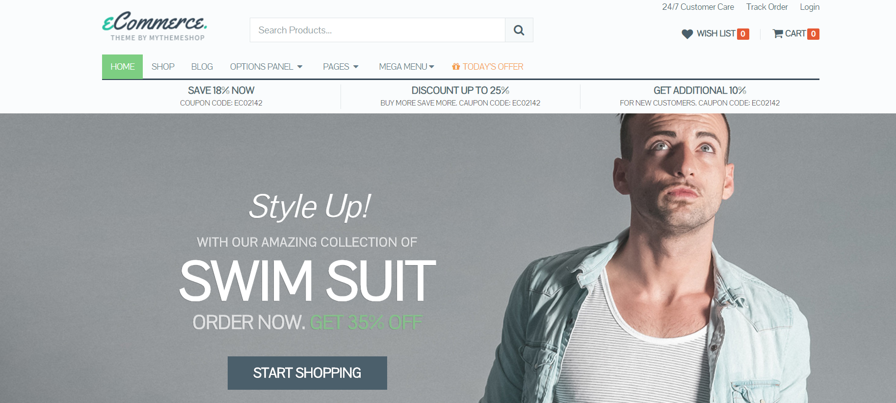 Man Staring Up   13 Best WordPress Themes For All Types Of Blogs & Websites
