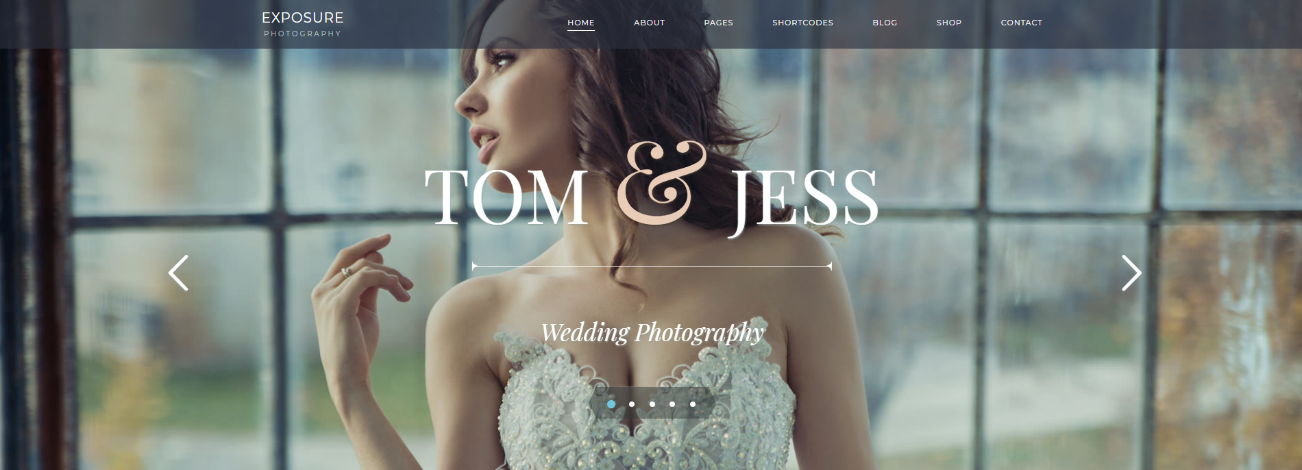 Lady Wearing Wedding Dress   13 Best WordPress Themes For All Types Of Blogs & Websites