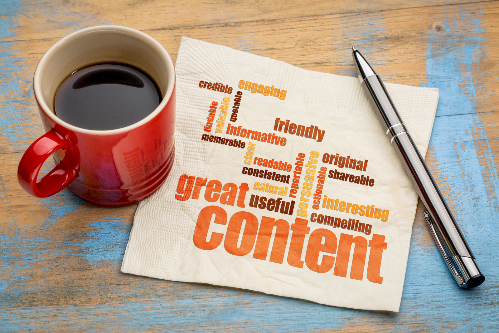 Coffee And Pen   Inbound vs. Outbound Marketing: What's Better For You?