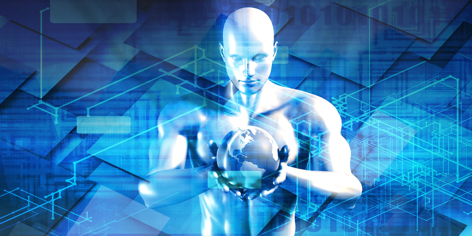 Man Holding Globe | The Most Notable Digital Advertising Trends Heading Into 2020