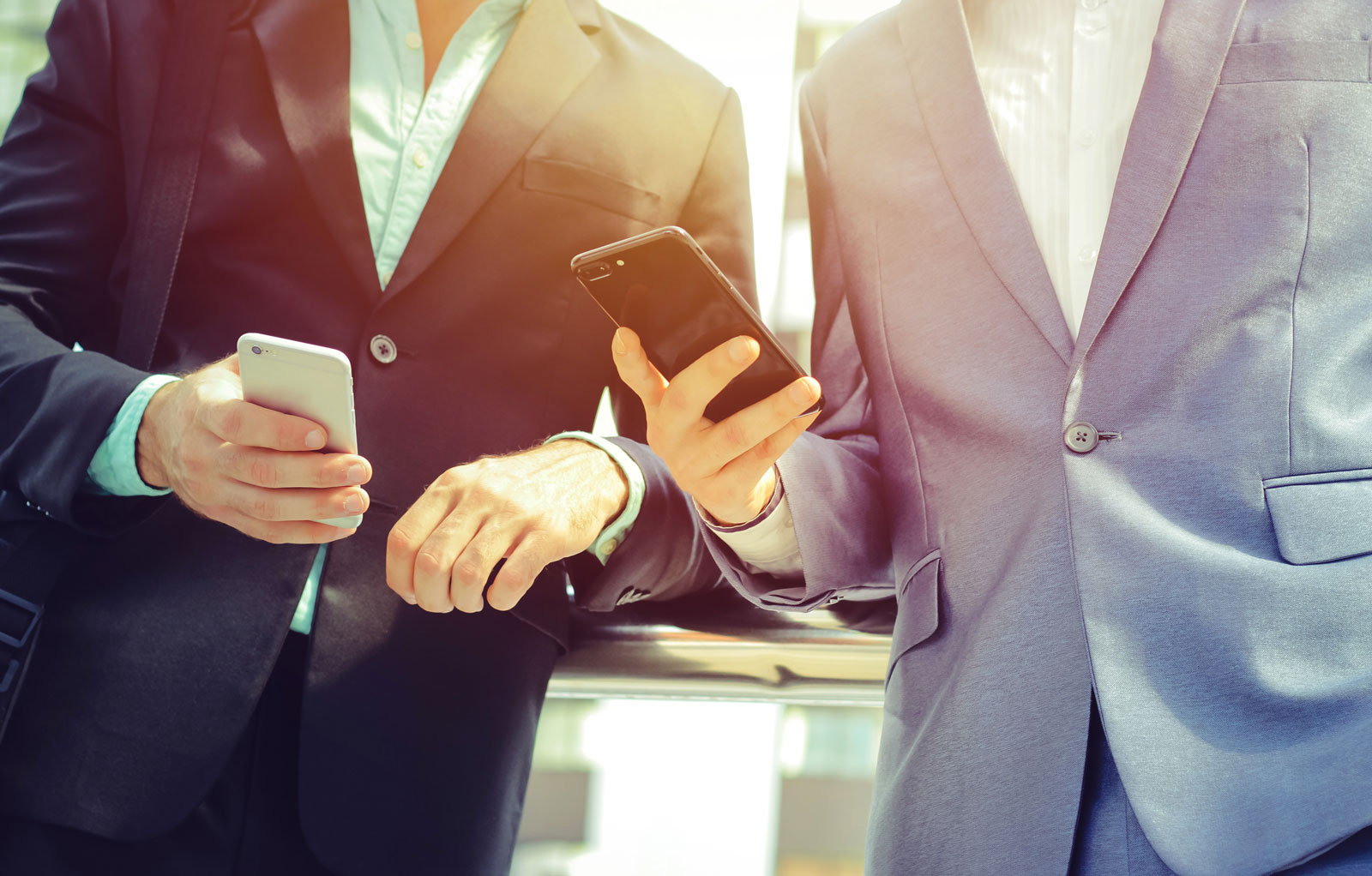Men Using Mobile Phone   The Most Notable Digital Advertising Trends Heading Into 2020