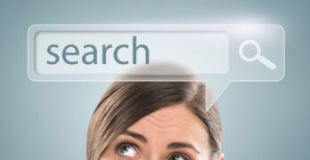 Woman Looking at The Search Bar | SEM vs. SEO: Help Deciding Which Is Best For Your Business