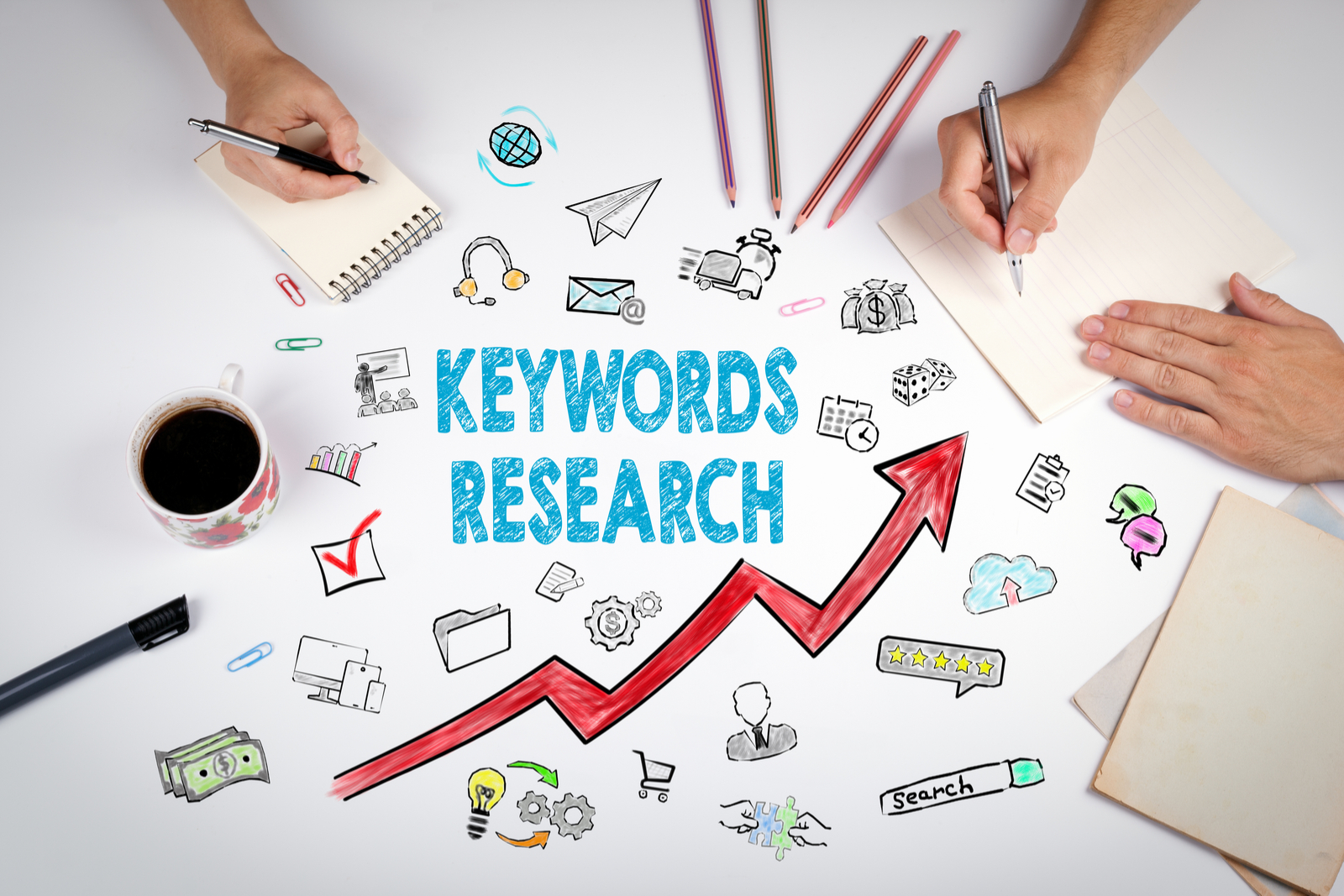 Keywords Research | Search Engine Marketing: Creating A Strategy To Hit Your Goals